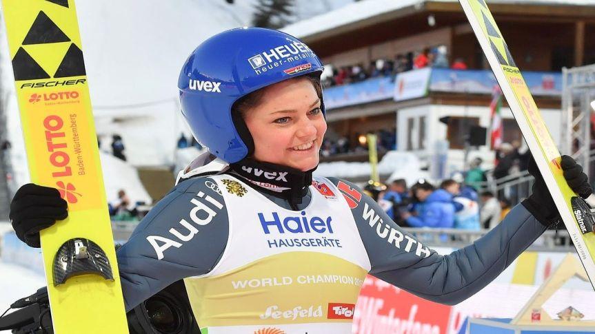 Legendy skoków narciarskich- CarinaVogt