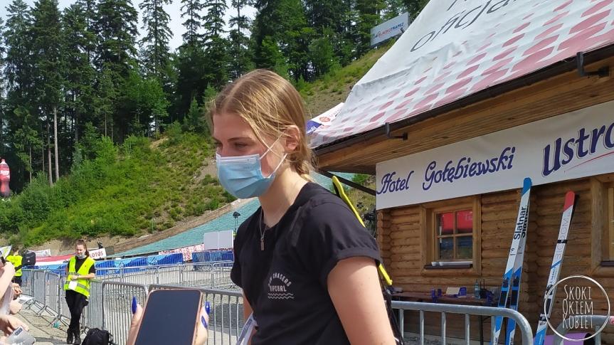 LGP Pań w Klingenthal – seria próbna dlaKramer